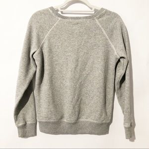 American Eagle Outfitters Sweaters - American Eagle Gray Sequin Penguin Sweater SZ SM